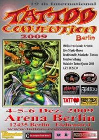 19tn int. Tattoo-convention in Berlin