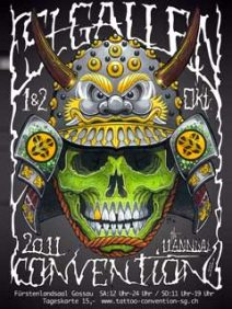 11th annual tattoo convention St. Gallen