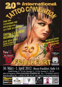 20th International tattoo-convention in Frankfurt