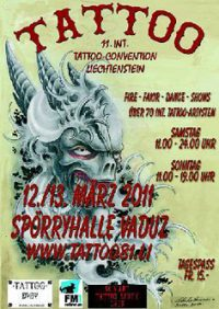 11th int. tattoo convention Liechtenstein