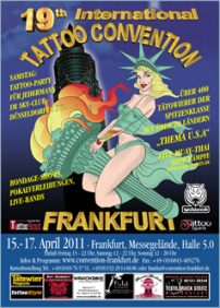 19th international tattoo convention in Frankfurt