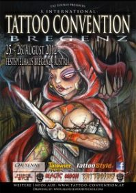 5th tattoo-convention in Bregenz 2012
